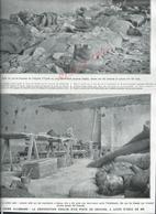 MILITARIA 14/18  COUPURE DE PRESSE MILITAIRE DU JOURNAL ILLUSTRATION HOPITAL DE YPRES ZOUAVES : - 1914-18