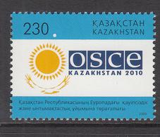 2010 Kazakhstan Chair Of European Security Organisation Set Of 1 MNH - Kazakhstan