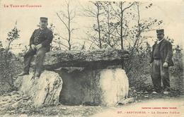 SEPTFONDS - Le Dolmen Finele. - Dolmen & Menhirs