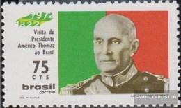 Brasilien 1311 (completa Edizione) Usato 1972 Presidente Americo Thomaz - Usati