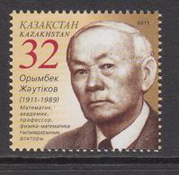 2011 Kazakhstan Orymbek Zhautykov Mathematician Set Of 1 MNH - Kazakhstan