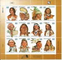 Isole Marshall 1999, Grandi Capi Indiani D' America - Marshall