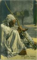 LIBIA / LIBYA - MENDICANTE ARABO - EDIZ.COMETTO - FOTO LEHNERT & LANDROCK - 1910s (BG595) - Libya