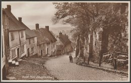 Gold Hill, Shaftesbury, Dorset, C.1920s - Pearson & Son RP Postcard - England