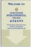 Grand Stanford Inter-Continental Hong Kong-2310. Key Card, Room Key, Clef De Hotel, Sleutelkaart - Hotel Keycards