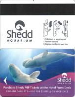 Shedd Aquarium-2308. Key Card, Room Key, Clef De Hotel, Sleutelkaart - Hotel Keycards