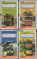 Hong Kong 1177-1180 (complete Issue) Unmounted Mint / Never Hinged 2004 100 Years Strassenbahn Honkong - 1997-... Chinese Admnistrative Region