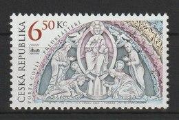 MiNr. 370 Tschechische Republik / 2003, 15. Okt. Internationale Briefmarkenausstellung BRNO 2005 (I): Portal Der Basilik - Tschechische Republik