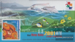 Hong Kong Block82 (complete Issue) Unmounted Mint / Never Hinged 2000 Delphine - 1997-... Chinese Admnistrative Region