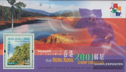 Hong Kong Block79 (complete Issue) Unmounted Mint / Never Hinged 2000 Stamp Exhibition - 1997-... Chinese Admnistrative Region