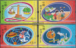 Hong Kong 930-933 (complete Issue) Unmounted Mint / Never Hinged 2000 Admission In That Year 2000 - 1997-... Chinese Admnistrative Region