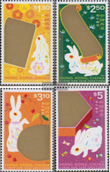 Hong Kong 861-864 (complete Issue) Unmounted Mint / Never Hinged 1999 Chinese Year - Unused Stamps