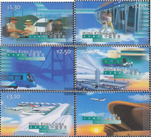 Hong Kong 843-848 (complete Issue) Unmounted Mint / Never Hinged 1998 Opening Airport Check Lap Kok - 1997-... Chinese Admnistrative Region