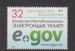 2011 Kazakhstan  E-government Set Of 1 MNH - Kazakhstan