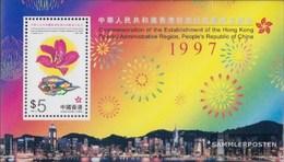 Hong Kong Block56 (complete Issue) Unmounted Mint / Never Hinged 1997 Founding Sonderverwaltungszone - 1997-... Chinese Admnistrative Region