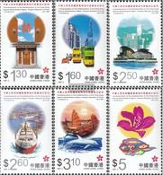 Hong Kong 820-825 (complete Issue) Unmounted Mint / Never Hinged 1997 Sonderverwaltungszone VR China - Hong Kong (1997-...)