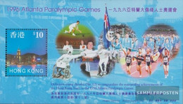 Hong Kong Block54 (complete Issue) Unmounted Mint / Never Hinged 1997 Paralympische Summer - 1997-... Chinese Admnistrative Region