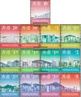 Hong Kong 789a-801a (complete Issue) Unmounted Mint / Never Hinged 1997 Clear Brands: Skyline - 1997-... Chinese Admnistrative Region