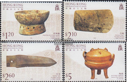 Hong Kong 767-770 (complete Issue) Unmounted Mint / Never Hinged 1997 Archaeological Finds - Unused Stamps