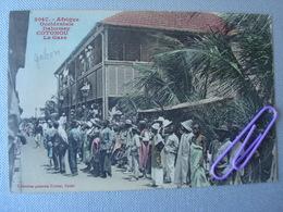 DAHOMAY : COTONOU La Gare En 1913 - Dahomey