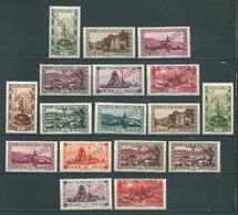 Saar MiNr. D 16-21, 22-32 *  (sab52) - 1920-35 Société Des Nations