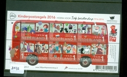 NEDERLAND * 2016 * NVPH 3473 * BUS  * BLOK BLOC * BLOCK *  POSTFRIS GESTEMPELD - Periode 2013-... (Willem-Alexander)