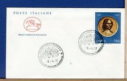 ITALIA - FDC CAVALLINO - 1992 - LORENZO DE MEDICI - 6. 1946-.. Repubblica