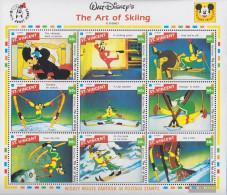St. Vincent 2198-2206 Sheetlet (complete Issue) Unmounted Mint / Never Hinged 1992 Walt-Disney-Kurzfilm - St.Vincent (1979-...)
