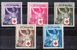 Serie De Rumania N ºYvert 649/53 (*) - 1918-1948 Ferdinand, Charles II & Michael