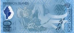 Solomon Islands - Pick New - 40 Dollars 2018 - Unc - Commemorative - Isola Salomon