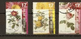 Belgique 1997 - La Rose - Série Complète De 3° -  2708/10 - Rosa Damascena - Sulfurea - Centifolia - Belgique