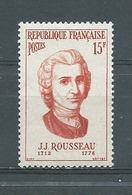 FRANCE -  Yvert  N° 1084 **  J.J. ROUSSEAU - Neufs