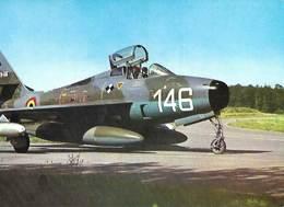 Armée Belge - FAé -  Republic F 84 F Thunderstreak - Matériel