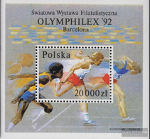 Poland Block118A (complete Issue) Unmounted Mint / Never Hinged 1992 Philately - Unused Stamps