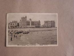 OSTEND OSTENDE OOstende Digue Phare Sea Front België Belgique Carte Postale Postcard - Oostende