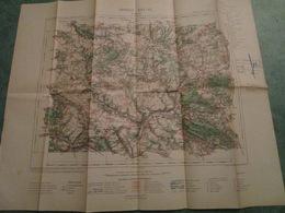 PONTOISE - Feuille XVI-12 - Echelle De 1:100.000 - Carte Geographique
