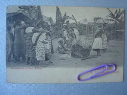 CONCO FRANçAIS : La Vente D'une Vierge Avant 1906 - Congo Francese - Altri