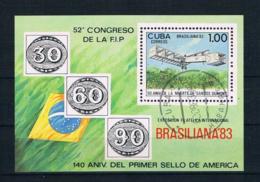 Kuba 1983 Flugzeuge Block 78 Gestempelt - Cuba
