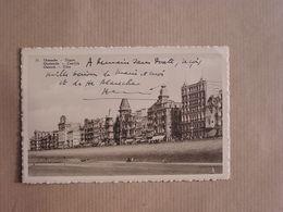 OSTEND OSTENDE OOstende Digue Zeedijk Dike België Belgique Carte Postale Postcard - Oostende