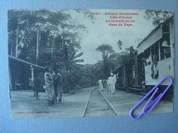 CÔTE D'IVOIRE : Le Chemin De Fer - Gare De YAPO - Ivory Coast