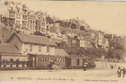 Cpa Granville 50 Manche Chemin De Fer De La Manche Edition Levrague   Ancienne Gare Du Port - Granville