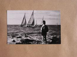 BLANKENBERGE La Mer De Zee Blankenberghe België Belgique Carte Postale Postcard - Blankenberge