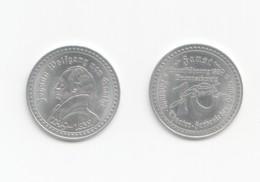 Gedenkmünze 1829 Johann Wolfgang V. Goethe  Uraufführung Braunschweig - Coins