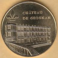 M.D.P - 26 GRIGNAN CHÂTEAU DE GRIGNAN VUE DE LA TERRASSE 2018 - Monnaie De Paris