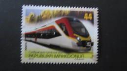 Macedonia Mazedonien 2016  MNH ** Ma 727 Transportation - Trains - Züge - Mazedonien
