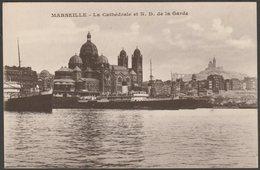 La Cathédrale Et Notre Dame De La Garde, Marseille, C.1920 - CPA - Joliette, Port Area