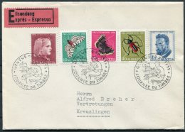 1953 Switzerland Stamp Day, Tag Der Briefmarke, Journee Du Timbre, Geneva Express Cover. Pro Juventute - Pro Juventute