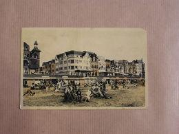 MIDDELKERKE La Plage Het Strand  België Belgique Carte Postale Postcard - Middelkerke