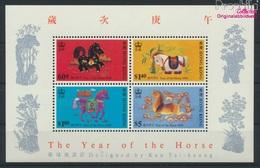 Hongkong Block13 (kompl.Ausg.) Postfrisch 1990 Chinesisches Neujahr (9233616 - Hong Kong (...-1997)