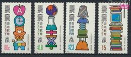 Hongkong 611-614 (kompl.Ausg.) Postfrisch 1991 Erziehungswesen (9233615 - Hong Kong (...-1997)